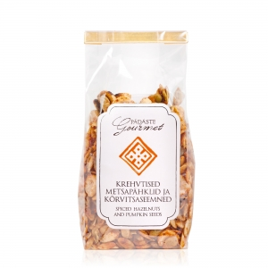 Spiced hazelnut & pumpkin seeds - 130g